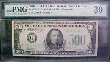 PMG Certified Chicago Note