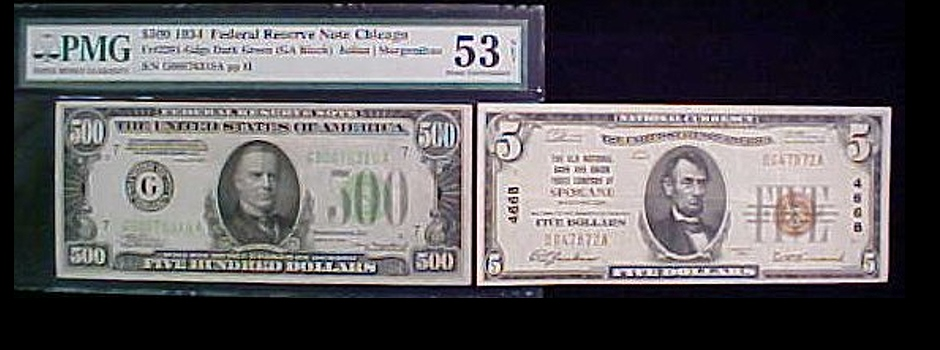 U.S. national paper currency