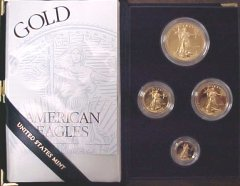 [American Gold Eagle Proof Coins]