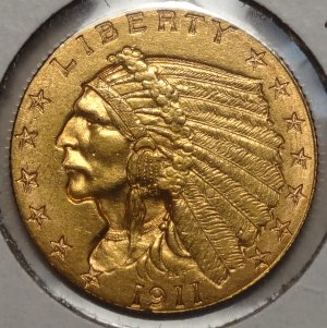 1911-D $2-1/2  Quarter eagle $5,995.00