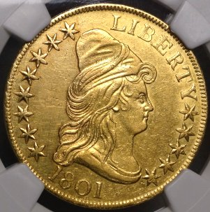 Affordable Bust $10 Gold Eagle $11,495.00