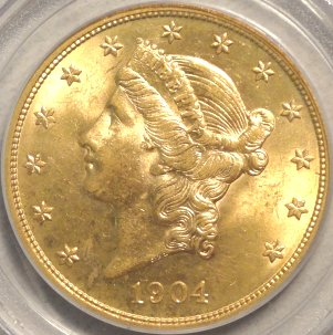 Better quality 1904-P MS63 PCGS
