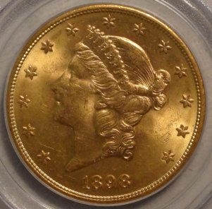 Very Choice 1898-S MS64 PCGS $2,995.00