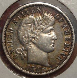 RARE 1895-O Barber Dime $2,495.00