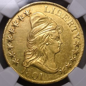 Popular Early Bust Gold Coin