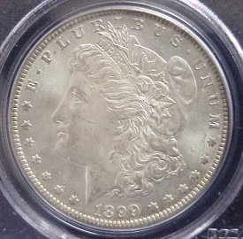 Lovely gem MS65 Silver Dollar!
