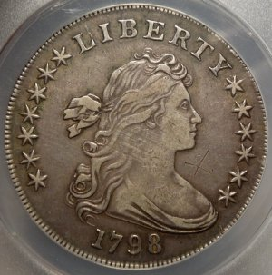 Nice deal on an early Draped Bust Dollar!
