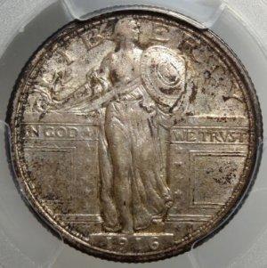 Stunning Original 1916-P Quarter PCGS $14,995.00