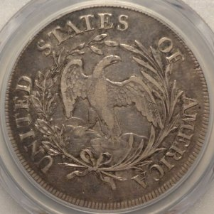 (reverse)Popular Early 1797 Bust Silver Dollar   $6,495.00