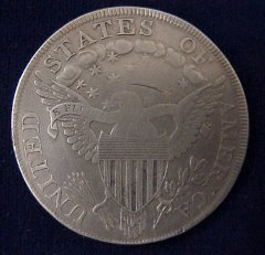 Affordable Early Draped Bust Silver Dollar!