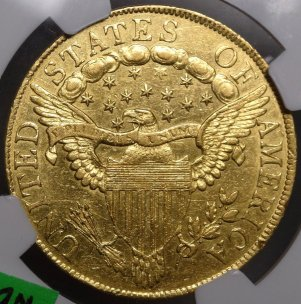 (reverse)Affordable Bust $10 Gold Eagle $11,495.00