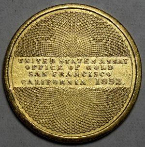 (reverse)U.S. Assay $10 Cal. gold coin $8,295.00