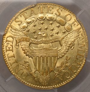 (reverse)Lovely Bust $5 Gold Half Eagle