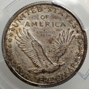 Beautiful Original 1916 Standing Liberty Quarter