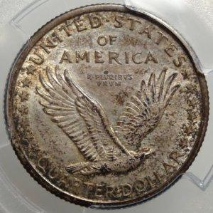(reverse)Stunning Original 1916-P Quarter PCGS $14,995.00