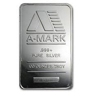 Specials on 100 oz. Silver Bars!