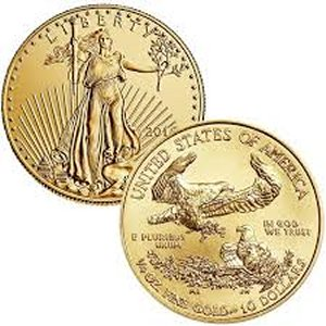 Buy American Gold Eagles @ Spot +$23.00