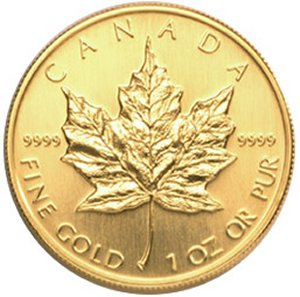 1 oz. Gold Maple Leaf Sale!